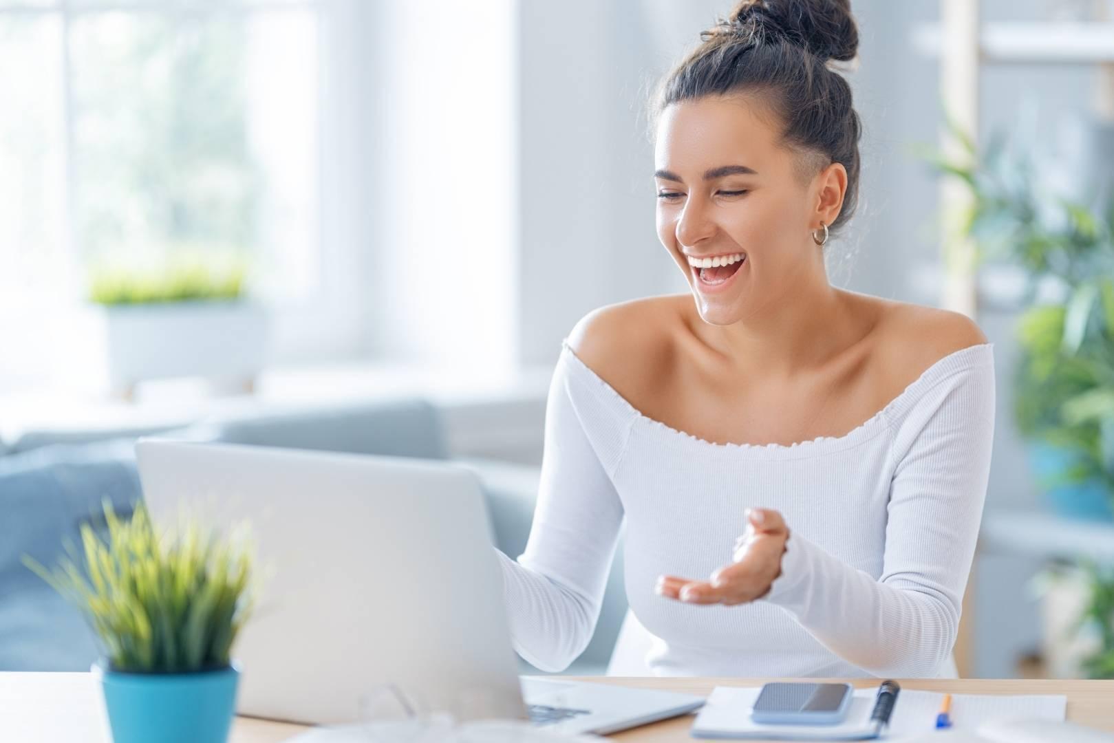 Frau Online Business Call