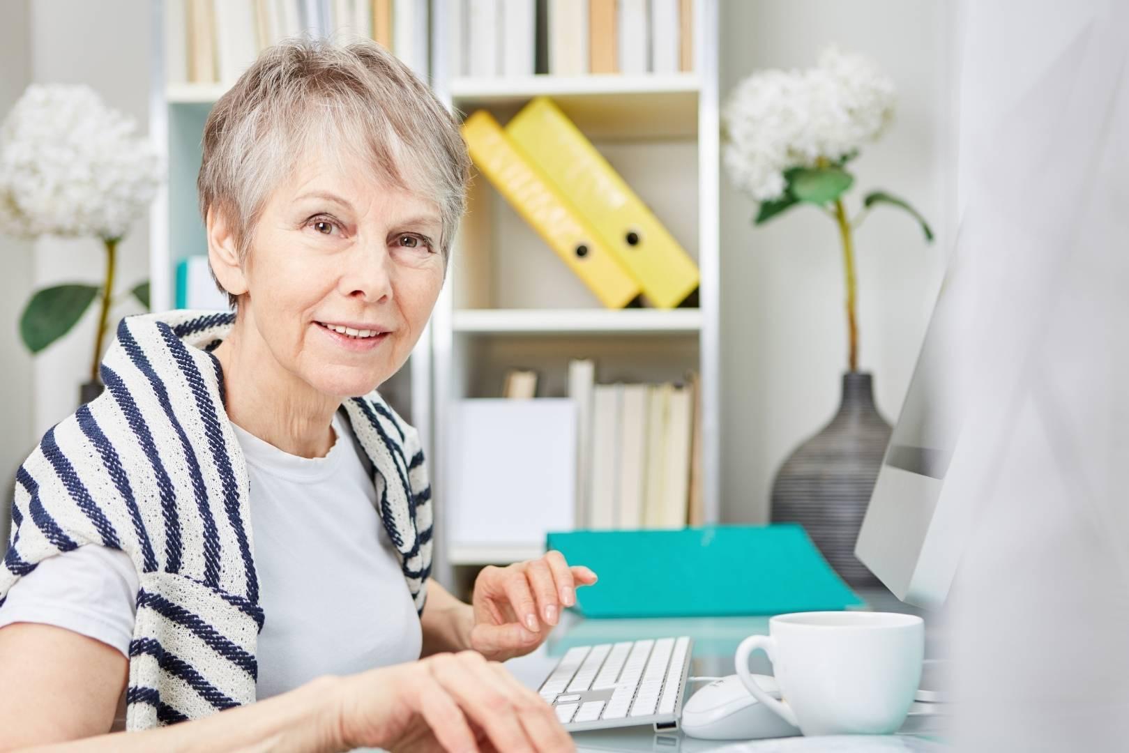In jedem Alter noch online aktiv
